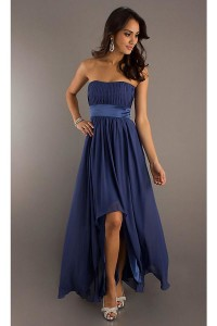 chic collection of long navy blue dress