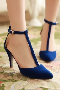 signature navy blue dress sandals