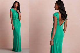 about emerald green dress