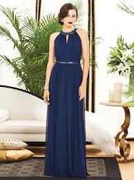 bridesmaids navy blue dress