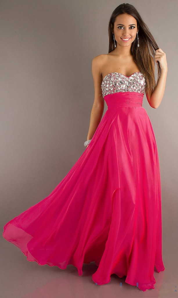 medium length pretty prom dresses
