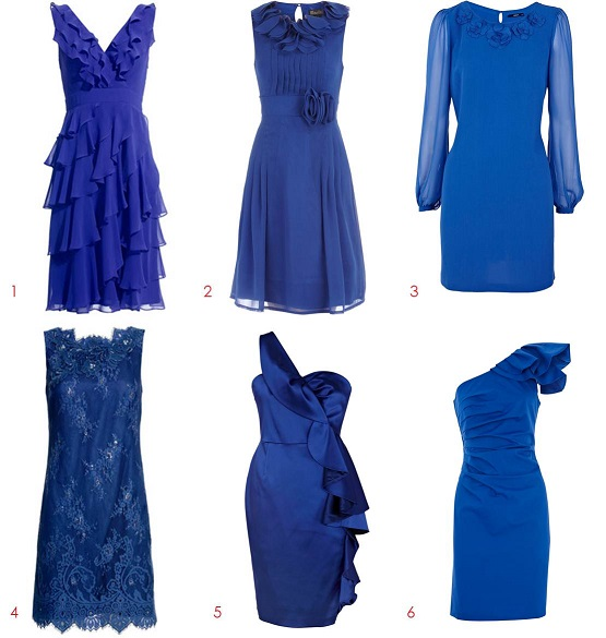All About Cobalt Blue Dress