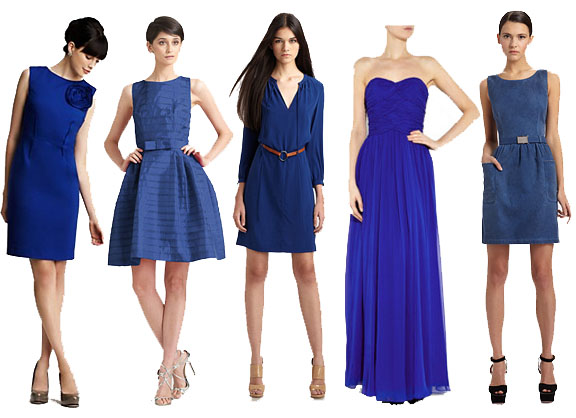 All About Royal Blue Dress