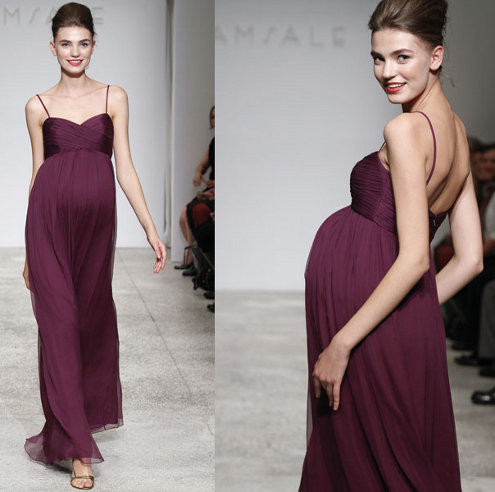 Best Elegant Dresses For Pregnant Women