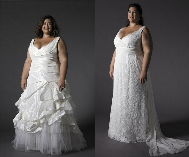 Classic Plus Size Wedding Gowns