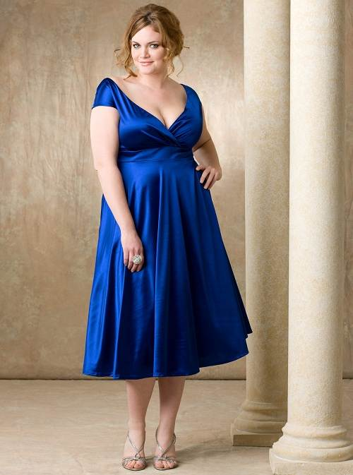 Elegant Cocktail Dresses For Plus Size Women
