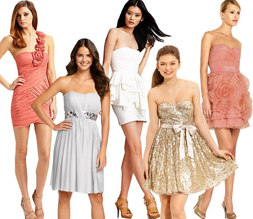 Get White or Any Color of Short  Prom Dresses