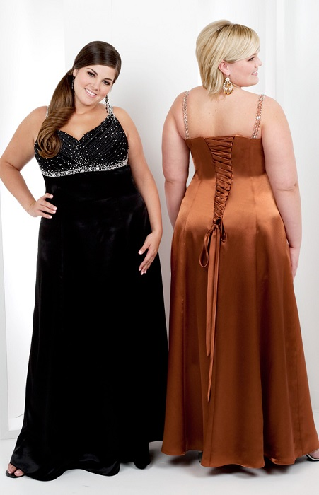 Lovely Plus Size Formal Evening Gowns