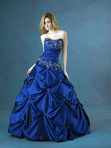 Lovely Royal Blue Prom Dress