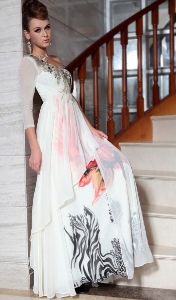 Stylish Design Long Formal Evening Gowns