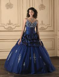 perfect gown navy blue dress
