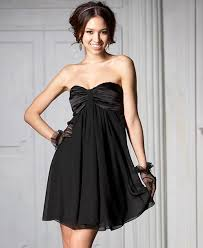 simple formal black dress
