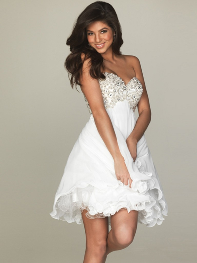 special short semi formal dresses