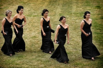 black bridesmaids dresses reviews