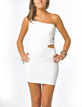 body con white club dresses