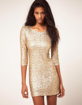 gold cocktail dresses reviews