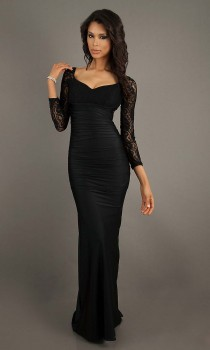 long sleeve prom dresses reviews