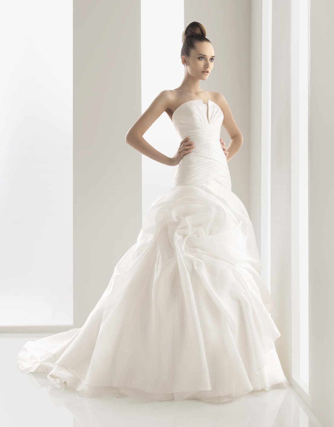 Simple Cheap Wedding Dress Ideas
